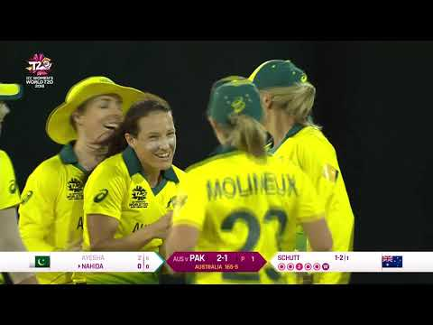 Australia v Pakistan - Womens World T20 2018 highlights