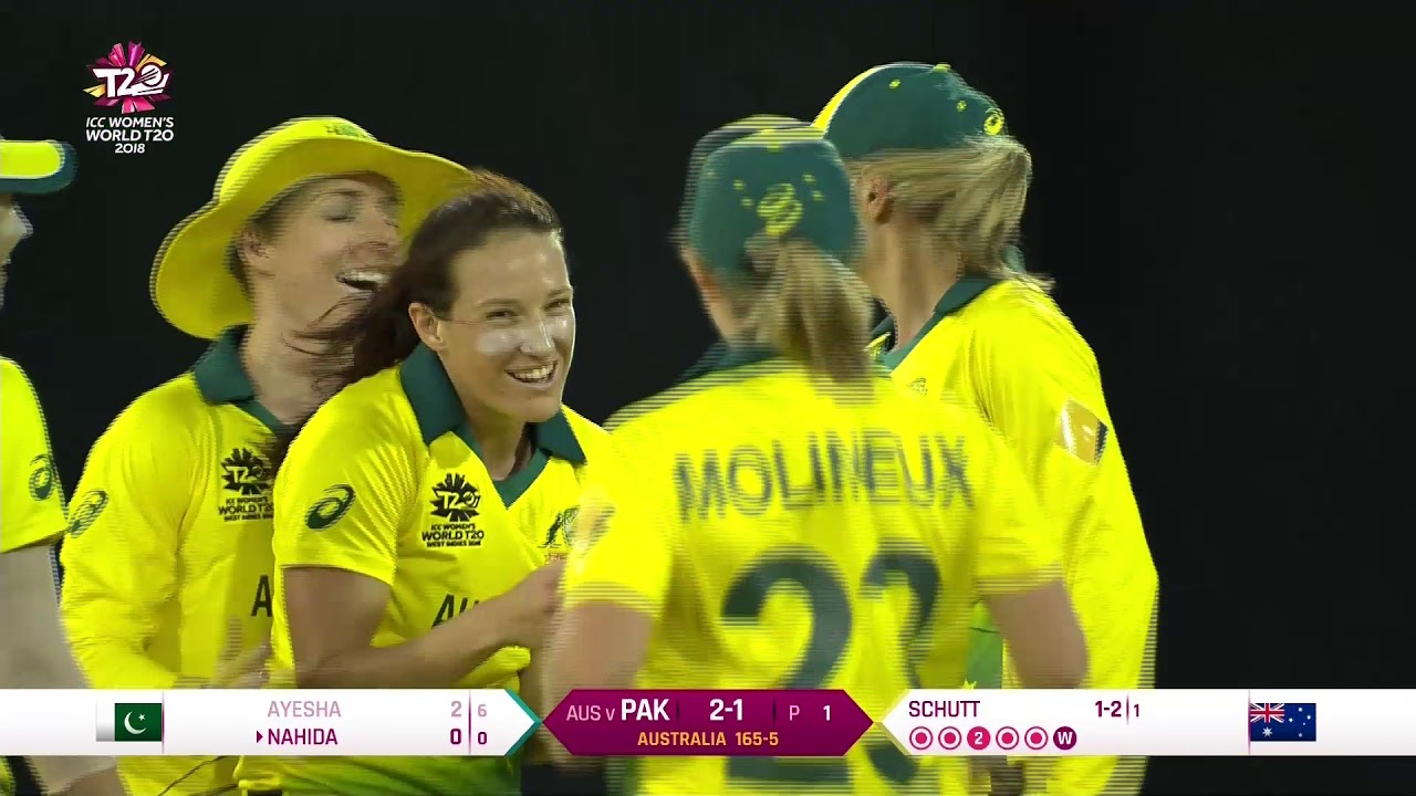 Australia v Pakistan - Women's World T20 2018 highlights