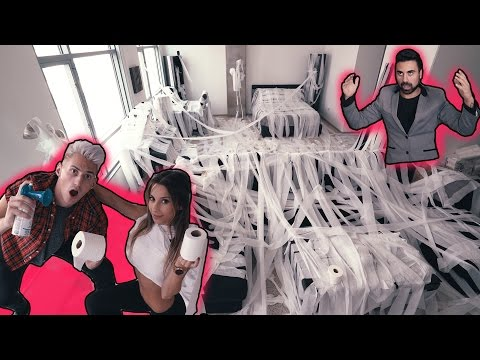 EGGED & TEEPEED HIS APARTMENT! 135,000 ROLLS OF TP! *PRANK WARS*