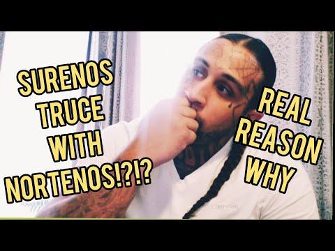 NORTENO AND SURENO TRUCE!?! - YouTube