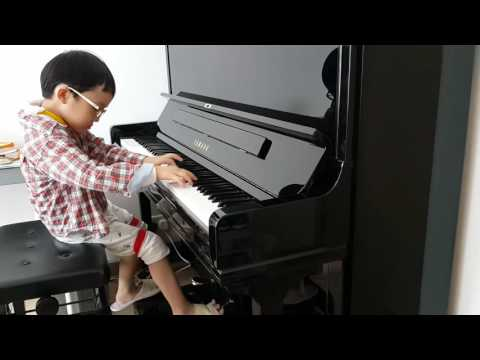 Chopin Etude in E Major Op 10 No 3 Tristesse,  Jonah Ho age 5