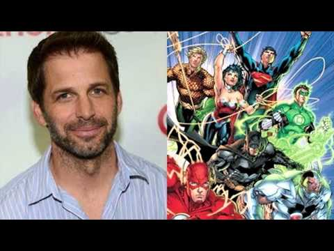 Zack Snyder Confirmed to Direct the Justice League After Batman Vs. Superman!