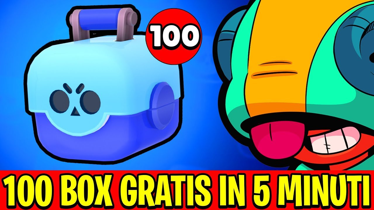Come Avere 100 Brawl Box Gratis In Poco Tempo Brawl Stars Youtube