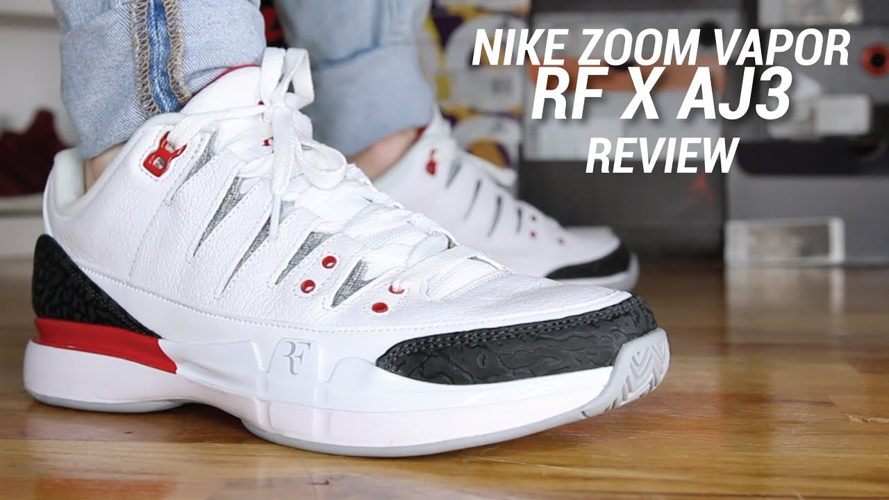 a4ba3b56a27e02 NIKE ZOOM VAPOR RF X AJ3 REVIEW - YouTube