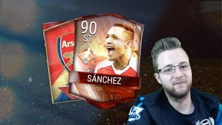 FIFA Mobile 17 Packsanity ep3 Quest to Pull MOTM Alexis Sánchez! 600k Pro Packs Team Hero Bundle!