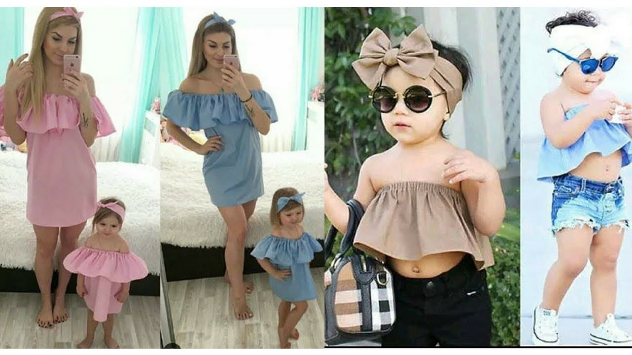 mother daughter matching outfits  2017 collections  youtube