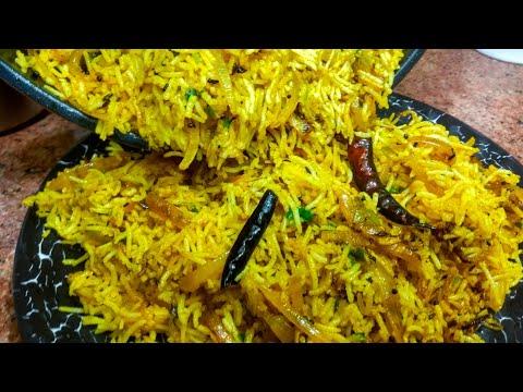 Onion Rice - Summer M Lunch K Liye Best Recipe | Onion Rice Recipe | Pyaz Wale Chawal