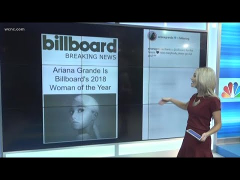 "Ariana Grande named Billboard's 2018 ""Woman of the Year"" Mp3"