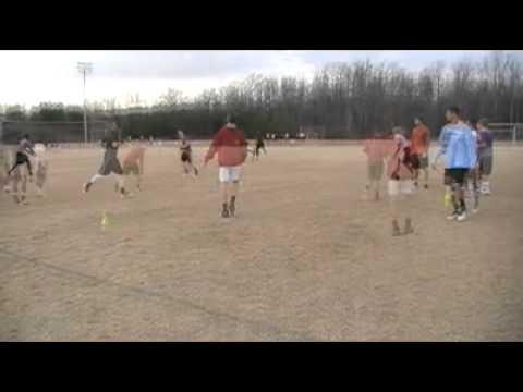 Austin Dixon at Coach Bobby Bentley QB Training Dec 2012