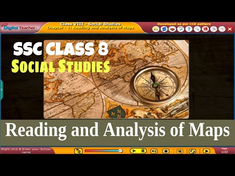 Reading and Analysis of Maps - Class 8 Social Studies