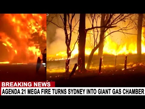 BREAKING: AGENDA 21 MEGA FIRE TURNS SYDNEY INTO GIANT GAS CHAMBER