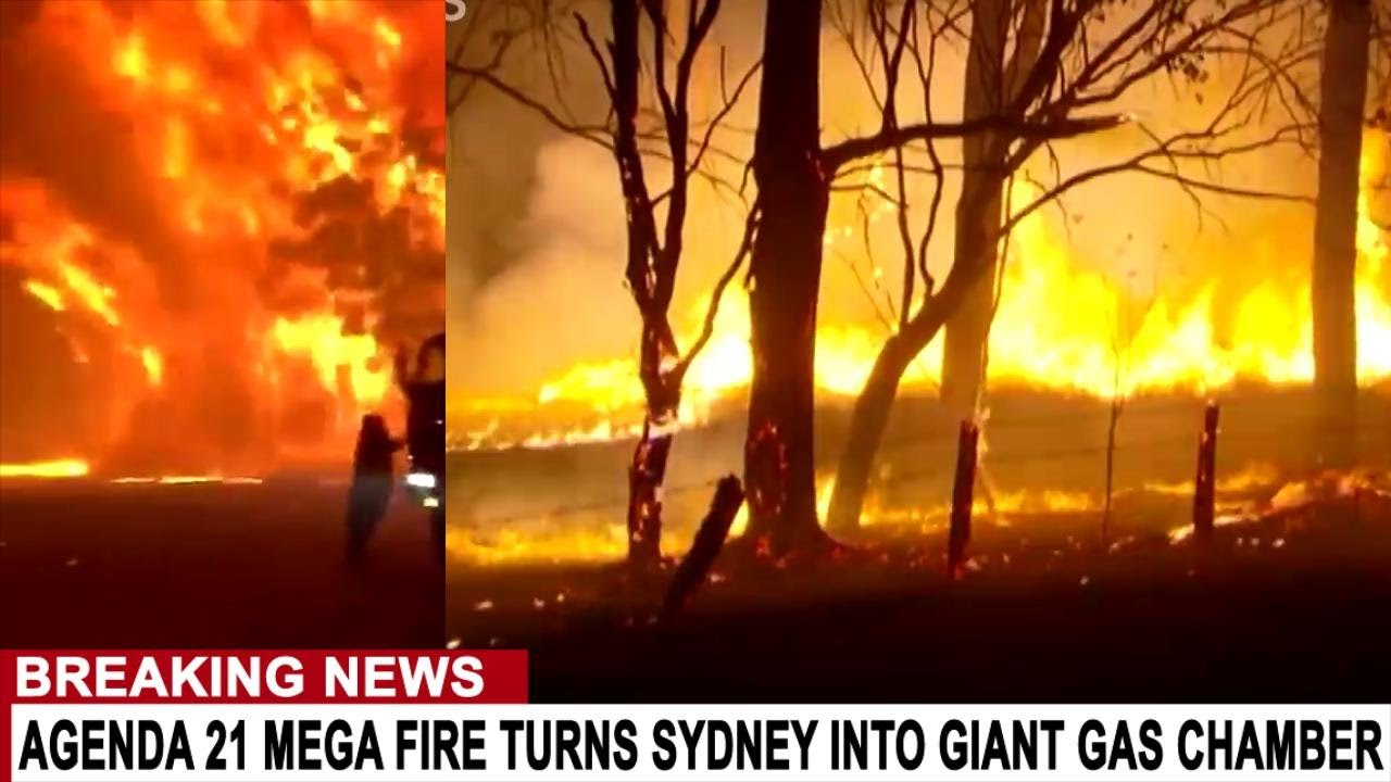 BREAKING: AGENDA 21 MEGA FIRE TURNS SYDNEY INTO GIANT GAS CHAMBER