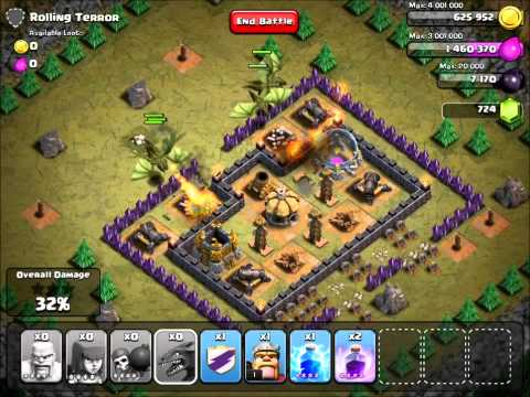 Clash of Clans | Rolling Terror v3 with TH7 troops