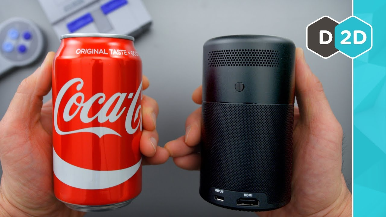 A Movie Theater in a CAN!