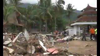Tsunami Selat Sunda, 110 Orang Meninggal di Lampung
