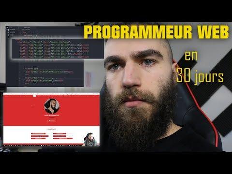 CHALLENGE : APPRENDRE LA PROGRAMMATION WEB en 1 Mois ! Html/css/js/jquery/bootstrap/php...