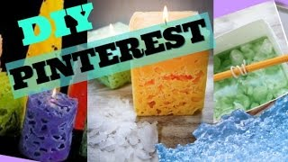 Diy Pinterest Ice Candle - Howtobyjordan