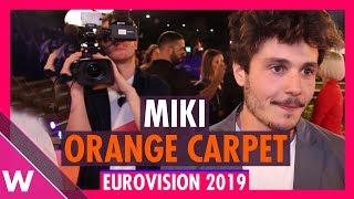 Miki (Spain) @ Eurovision 2019 Red / Orange Carpet Opening Ceremony