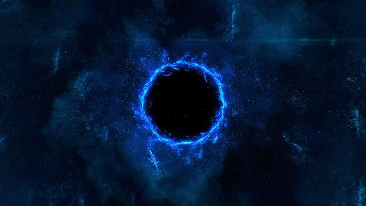 Universe Wallpaper 1080p Hd: Black Hole Of The Universe [ 1080P