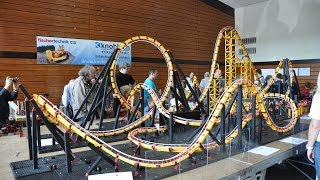 fischertechnik Roller Coaster Model firestorm 2 - Offride @ ft Convention 2011