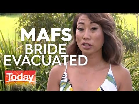 MAFS Bride Evacuated in QLD Floods | TODAY Show Australia