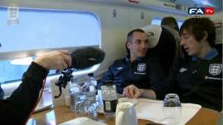 Wayne Rooney interviews Leon Osman and Leighton Baines | FATV