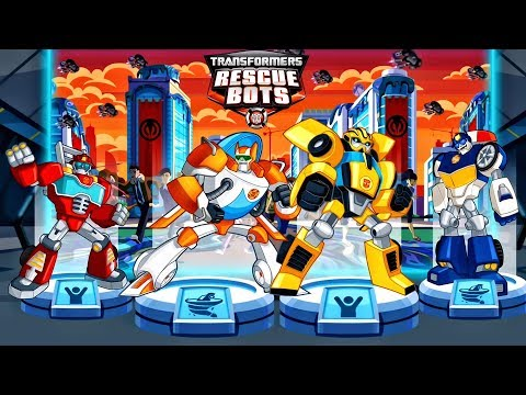 Transformers Rescue Bots: Disaster Dash Hero Run | All Bots Unlocked - Rescue Bots | Missions #4