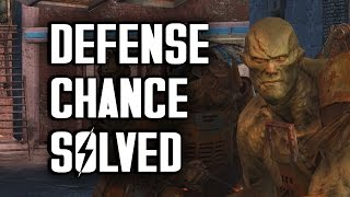 Defense Chance Solved - Fallout 4 Settlement Tips