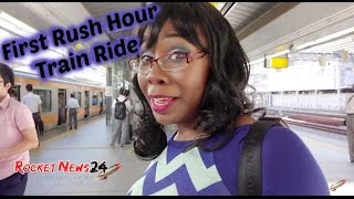 Experiencing a Rush Hour Train in Tokyo