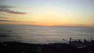 Sunset in Baiona - Camping Mougas