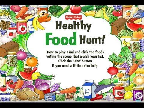 Babies Healthy Food Hunt