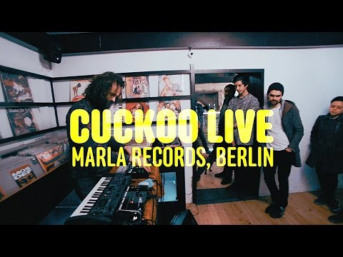 Cuckoo Live Octatrack set at Marla Records 2016 Berlin