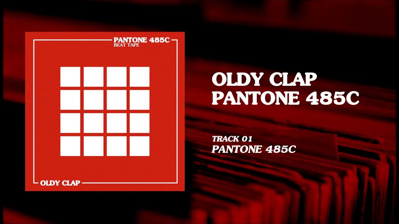 OLDY CLAP - Pantone 485C
