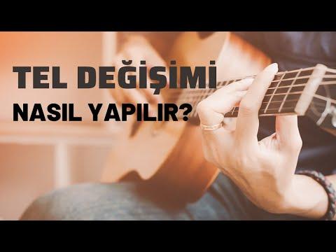 Akustik Gitarda Tel Değişimi ve Bakım