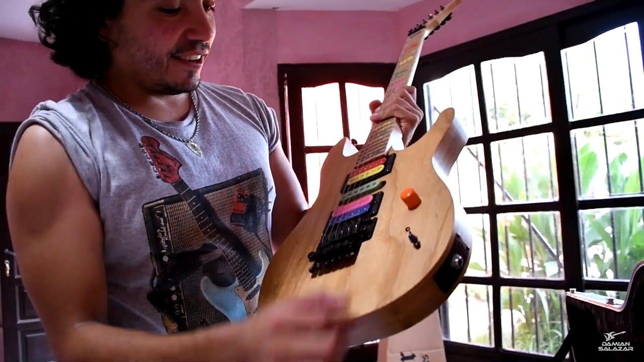 Download INCREIBLE REGALO - LA GUITARRA QUE UTILIZO JASON BECKER