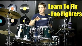 Learn To Fly Drum Tutorial - Foo Fighters