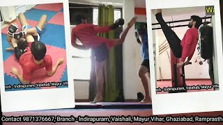 Kalaripayattu, MMA, Muay Thai, Street self defense, Warrior Fitness classes in Indirapuram, Vaishali