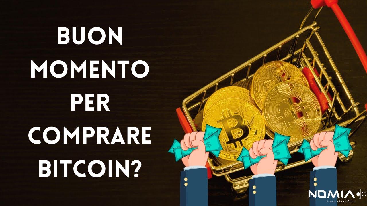 è ora un buon momento per comprare bitcoin