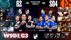 G2 Esports vs Schalke 04 | Week 9 Day 1 S10 LEC Spring 2020 | G2 vs S04 W9D1