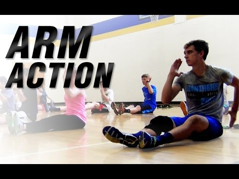 Youth Running Arm Action | Increase Running Speed
