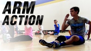 Youth Running Arm Action   Increase Running Speed