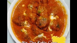 Mix Vegetable kofta curry by KHANA MANPASAND