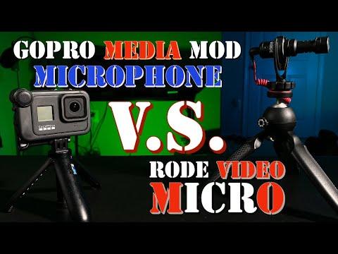 GoPro Media Mod Microphone Vs Rode Video Micro