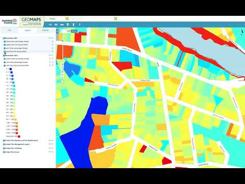 How to view valuation data on the Auckland Council Unitary Plan Viewer
