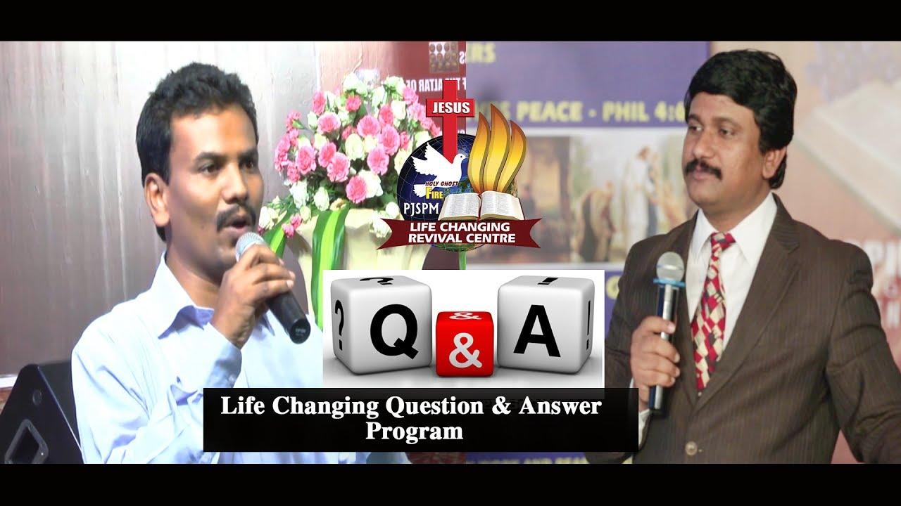 Hallelujah?-హల్లెలూయా అని అనమని ఎక్కడ ఉంది ? - Life Changing Q & A  Program (P.J.Stephen Paul)