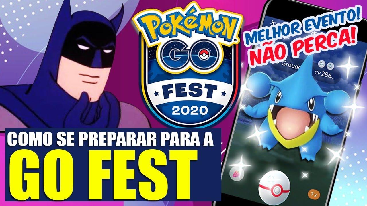 SE PREPARE PARA A GO FEST: GIBLE SHINY, LITWICK, UKOWN E MUITO MAIS | POKEMON GO