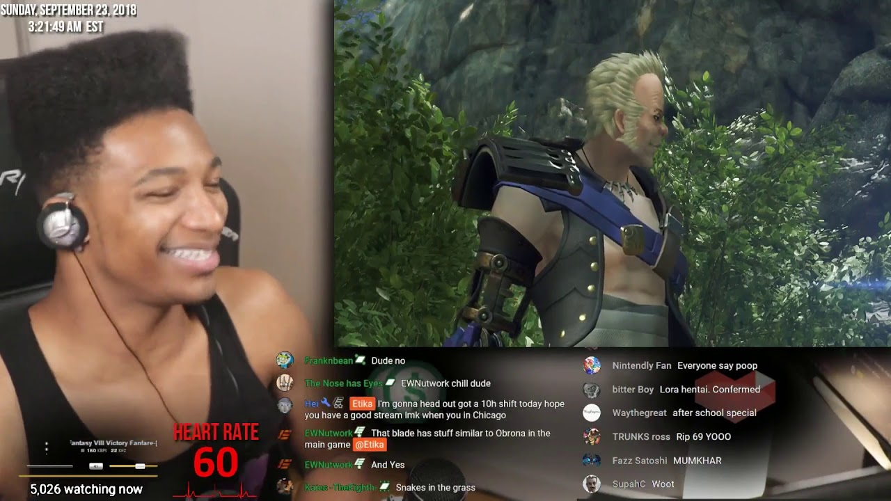 Etika Plays xenoblade chronicles 2 torna  And gets pranked by chat