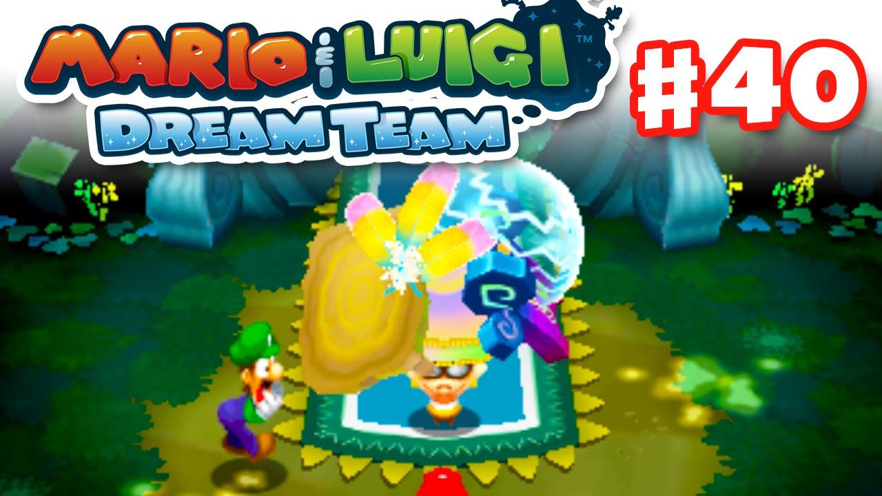 Mario Luigi Dream Team Gameplay Walkthrough Part 40 The Ultibed Nintendo 3ds