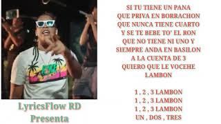 Quimico Ultra Mega - A La Cuenta De 3 Letras/Lyrics [LyricsFlow RD]