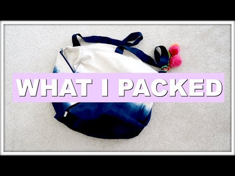 HOW TO PACK LIGHT FOR A LAST MINUTE WEEKEND GETAWAY | MORE SEREIN